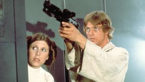 Luke Skywalker and Leia Organa, Star Wars: A New Hope