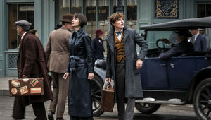 Fantastic Beasts: The Crimes of Grindelwald Eddie Redmayne Katherine Waterston