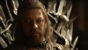 Sean Bean as Ned Stark, Game of Thrones