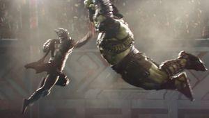 Thor Ragnarok punching