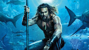 Aquaman 2018 poster close-up