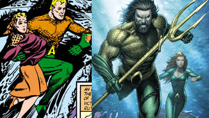 Aquaman new and old