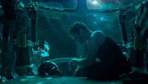 Avengers Endgame Tony Stark Stranded