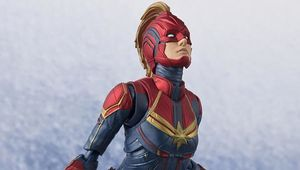 Captain Marvel collectible hero