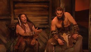 Momoa Khal Drogo SNL