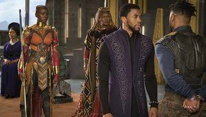Black Panther Chadwick Boseman Michael B. Jordan Danai Gurira