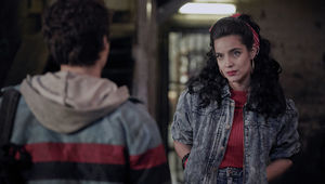 "DEADLY CLASS -- ""Reagan Youth"" Episode 100 -- Pictured: Maria Gabriela de Faria as Maria"