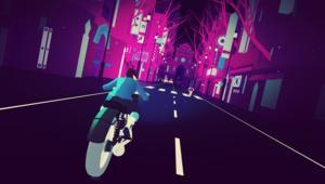 Sayonara Wild Hearts - Bike Battle