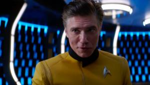 Anson Mount Christopher Pike Star Trek Discovery Season 2