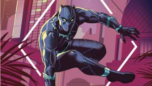 Black Panther Cover Hero