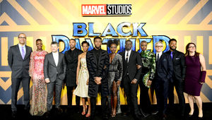 Black Panther premiere cast - Getty