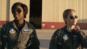 Captain Marvel Lashana Lynch
