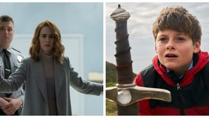 Glass Sarah Paulson The Kid Who Would Be King Louis Ashbourne Serkis