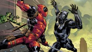 Deadpool vs Black Panther