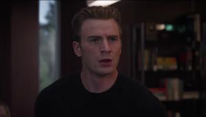 Chris Evans Captain America Avengers: Endgame