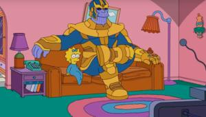 The Simpsons Thanos via official YouTube 2019