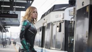 Captain Marvel train