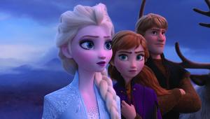 Frozen 2 Elsa, Anna, Kristoff