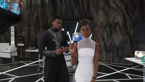 Black Panther T'Challa and Shuri