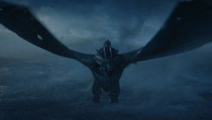 The Night King with dragon (Game of Thrones Season 7)