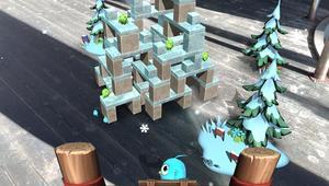 Angry Birds AR Blue Bird