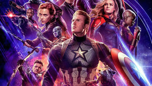 Captain America leads the heroes of Avengers: Endgame