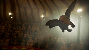 Dumbo, flying