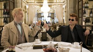 Good Omens, Michael Sheen and David Tennant