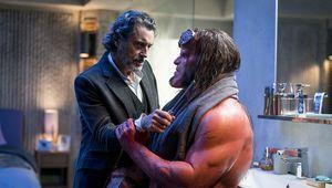 Hellboy and Professor Bruttenholm