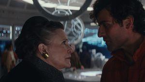 Leia and Poe The Last Jedi via official site 2019