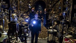 The Lestrange vault at Gringotta in Harry Potter and the Deathly Hallows Part 2