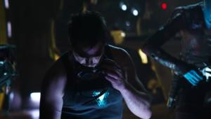 Avengers: Endgame Tony Stark and Nebula