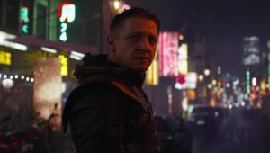Jeremy Renner Ronin Hawkeye Avengers: Endgame