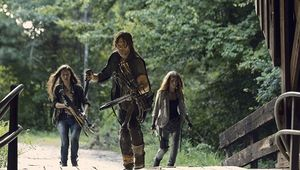 The Walking Dead Norman Reedus, Eleanor Matsuura, Nadia Hilker