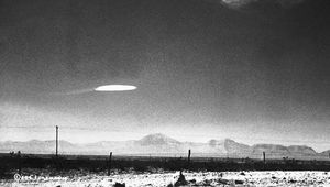 UFO over New Mexico in 1957