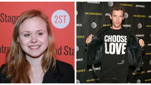 Alison Pill and Harry Treadaway