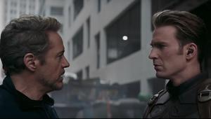 Avengers Endgame Tony and Cap