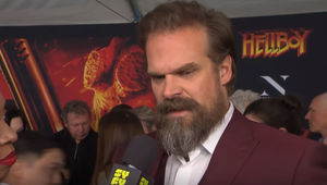 David Harbour Hellboy Red Carpet