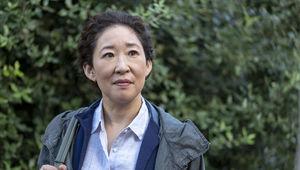 Sandra Oh in Killing Eve Season 2