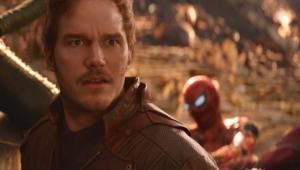 Chris Pratt as Peter Quill in Avengers: Infinity War