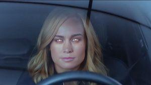 Brie Larson Captain Marvel Audi ad