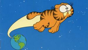 Jim Davis' Garfield in Space by Mike Fentz and Dave Kuhn
