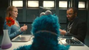 Westworld's Dolores and Bernard learn respect from Cookie Monster