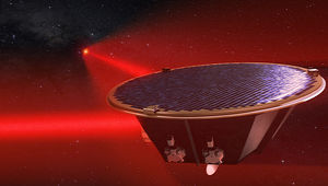 LISA spacecraft