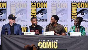 Black Panther Marvel Comic-Con panel