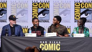 Black Panther Marvel Comic-Con panel