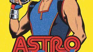 Astro Hustle #1 Variant