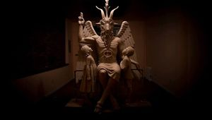 Baphomet Statue