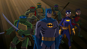 Batman vs. TMNT group