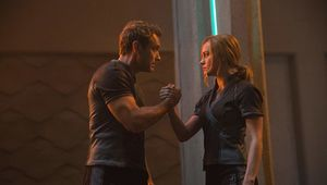 Captain Marvel Jude Law Brie Larson